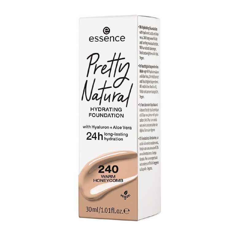 Essence Pretty Natural hydrating foundation 240, , hi-res image number null
