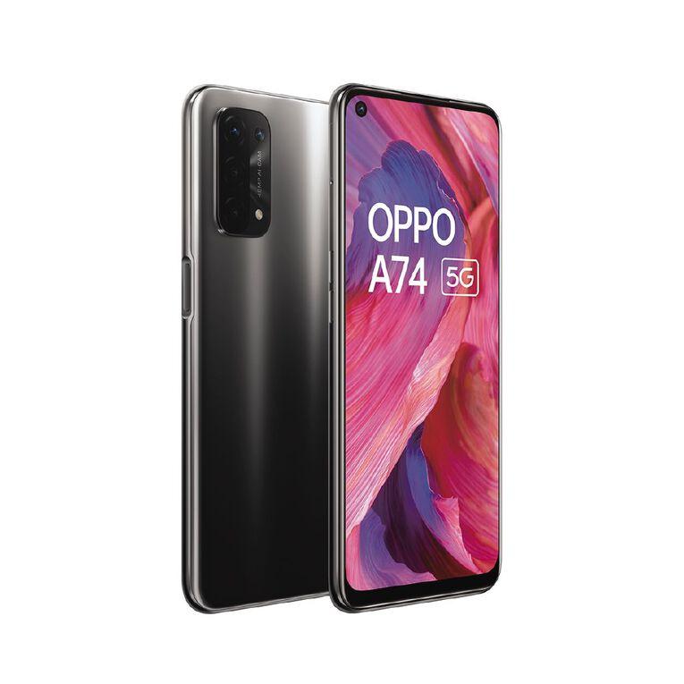OPPO A74 128GB 5G Black, , hi-res