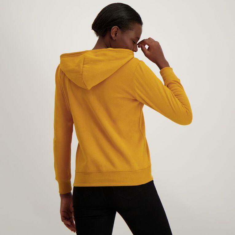 H&H Women's Zip Thru, Gold, hi-res