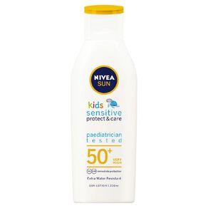 Nivea Sun Kids Pure & Sensitive Lotion SPF50+ 200ml