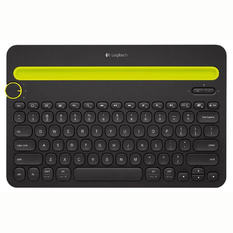 Logitech Wireless Bluetooth Multi-Device Keyboard K480 Black, , hi-res
