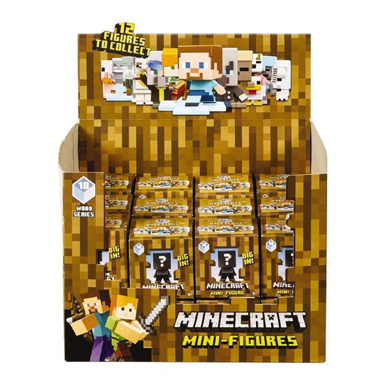 Minecraft Mini Figure Boxed Assorted, , hi-res