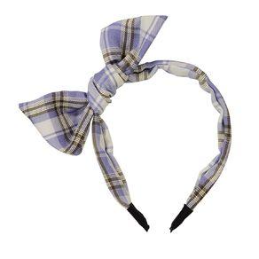 Bow Headband Blue