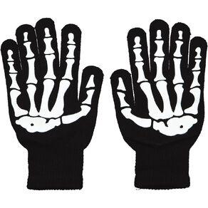 Scarehouse Skeleton Gloves One Size