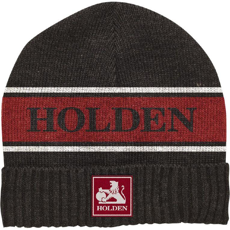 Holden Beanie, Black/Red, hi-res