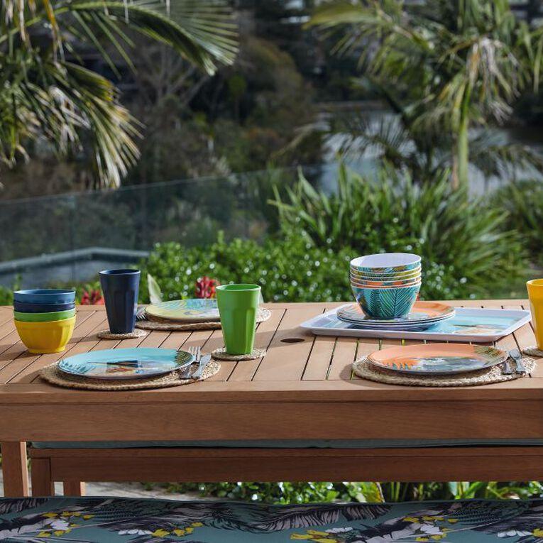 Living & Co Printed Melamine Bowl Kea Multi-Coloured, , hi-res