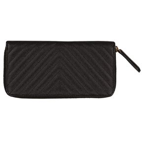 H&H Diagonal Quilted Purse