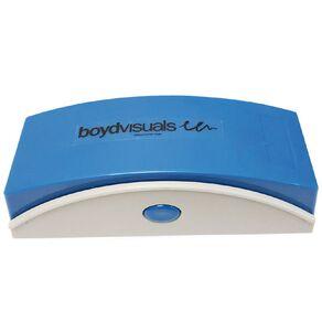 Boyd Visuals Magnetic Whiteboard Eraser White