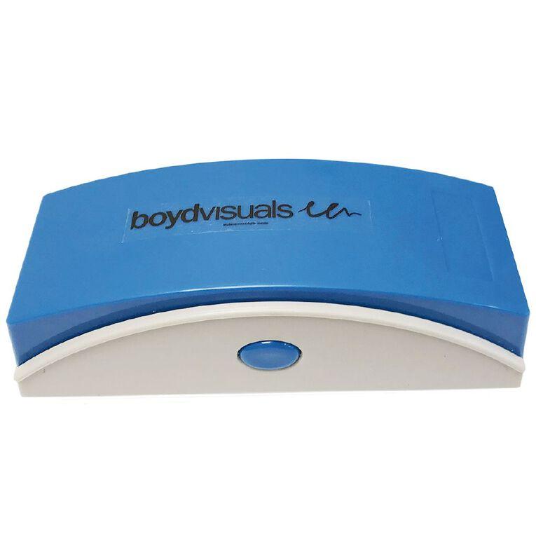 Boyd Visuals Magnetic Whiteboard Eraser White, , hi-res