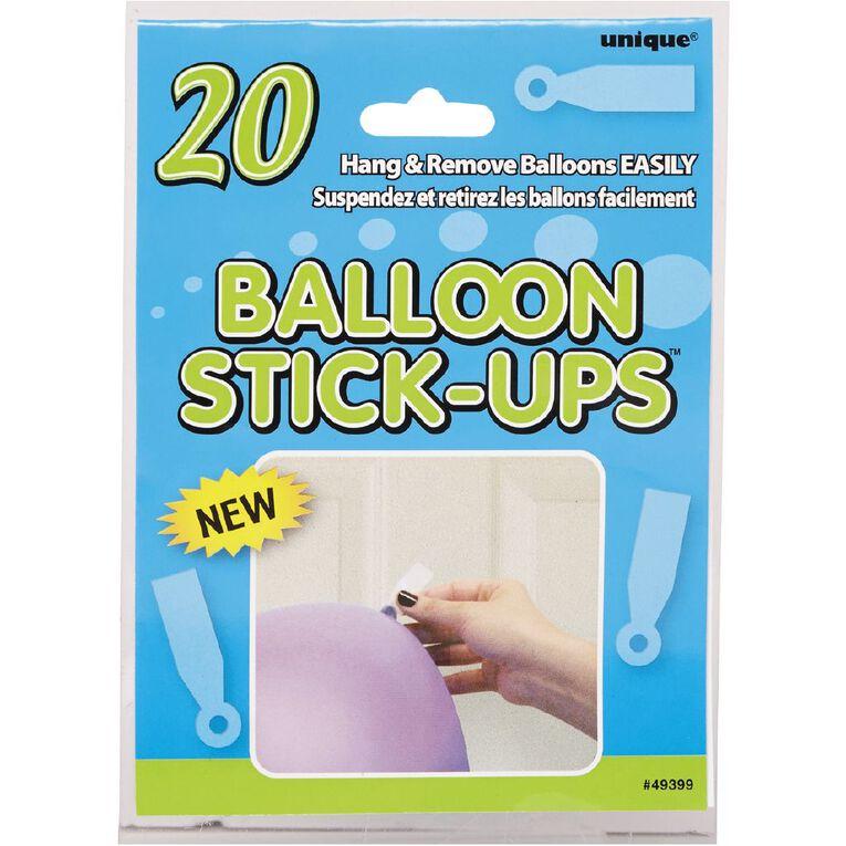 Unique Balloons Stick up 20 Pack, , hi-res