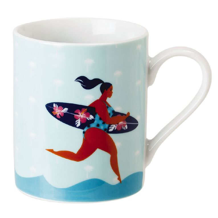 Living & Co Beach Babe Mug, , hi-res