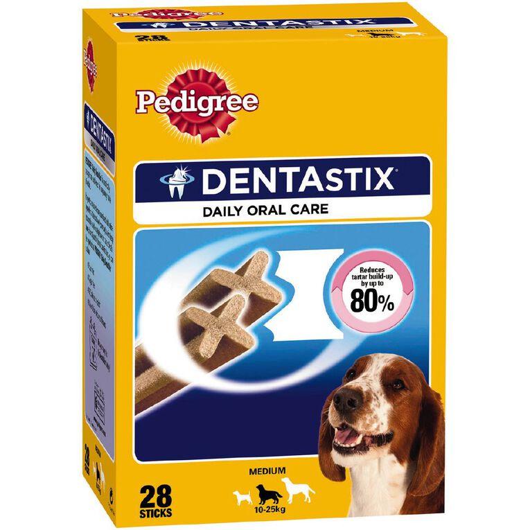 Dentastix Dentastix Dog Treats Daily Oral Care Medium Dog 28 Sticks, , hi-res