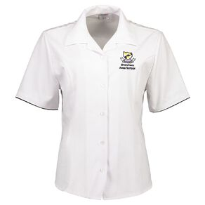 Schooltex Onewhero Area School Short Sleeve Blouse with Embroidery