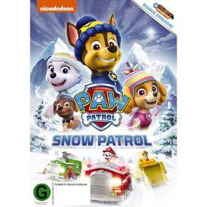 Paw Patrol Snow Patrol DVD 1Disc