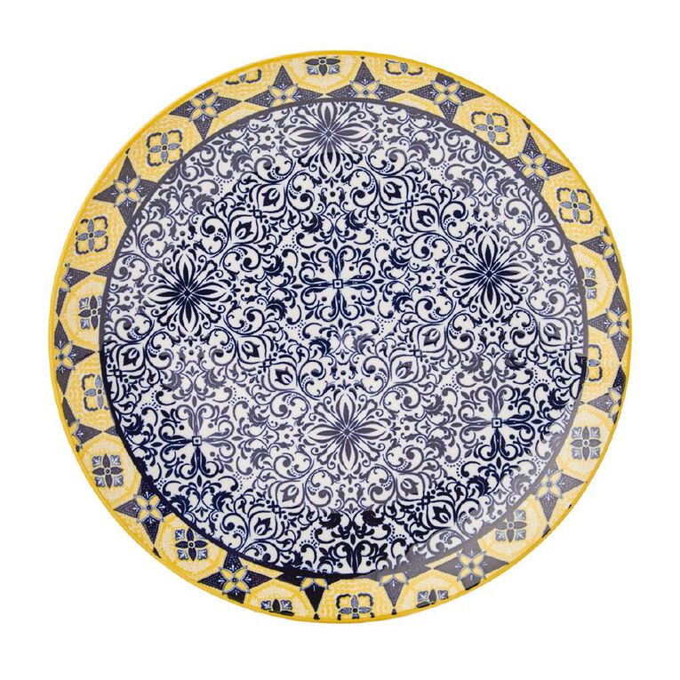 Living & Co Global Moroccan Dream Side Plate Multi-Coloured, , hi-res