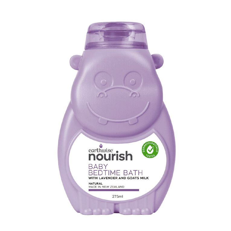 Earthwise Nourish Baby Bedtime Bath 275ml, , hi-res image number null