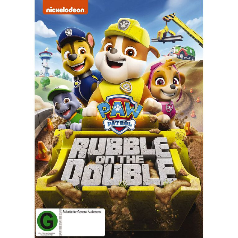 Paw Patrol Rubble On The Double DVD 1Disc, , hi-res