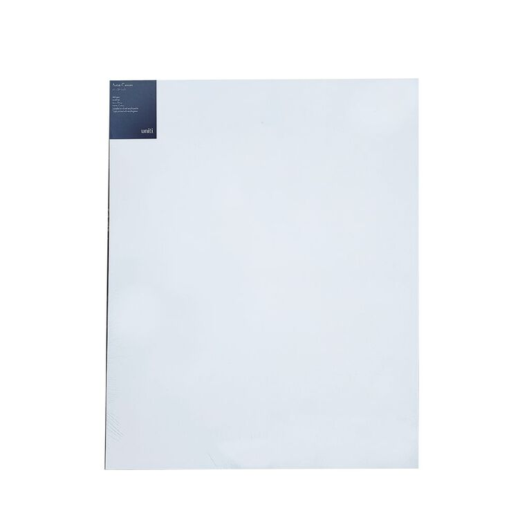 Uniti Blank Canvas 280gsm (32in x 40in) 80cm x 100cm, , hi-res