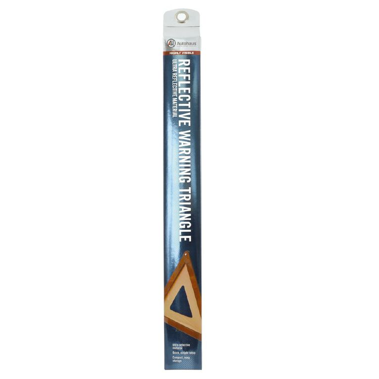 Autohaus Reflective Warning Triangle, , hi-res