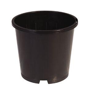 IP Plastics Round Pot 18cm Black 3.3L