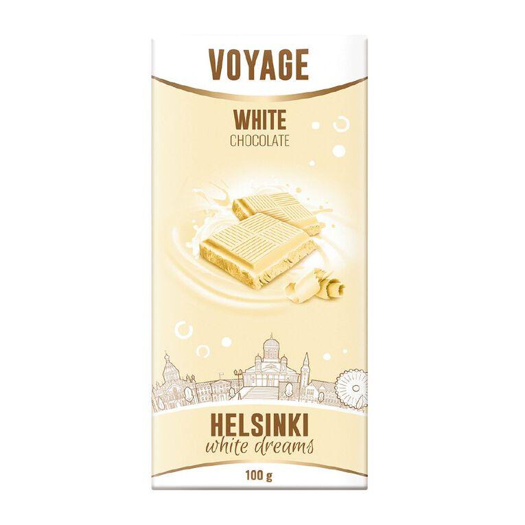 Voyage White Chocolate 90g, , hi-res
