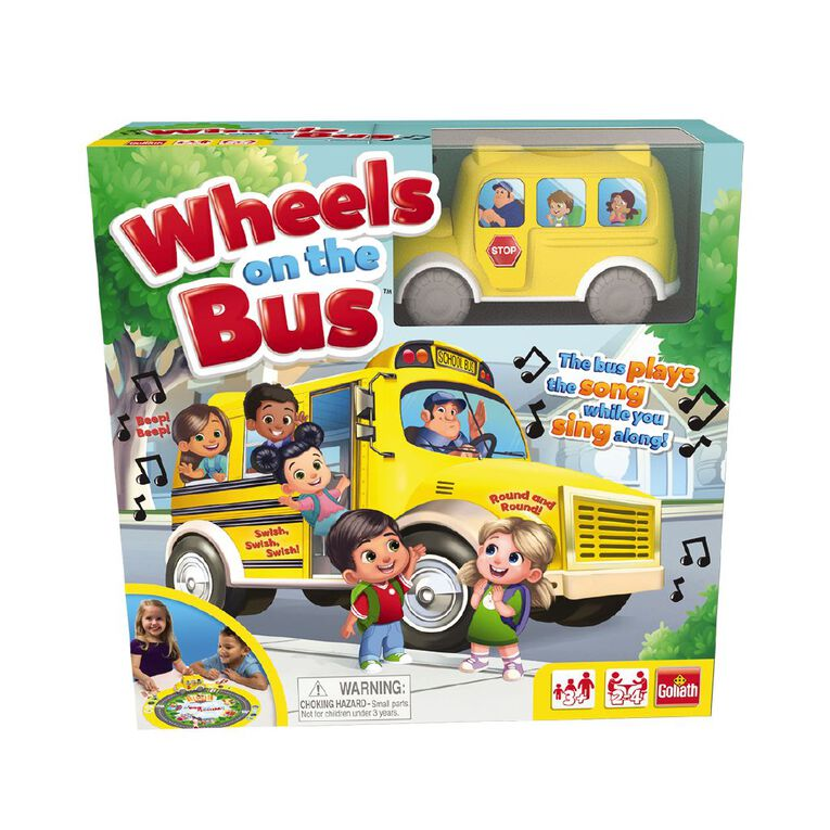 Wheels on the Bus, , hi-res