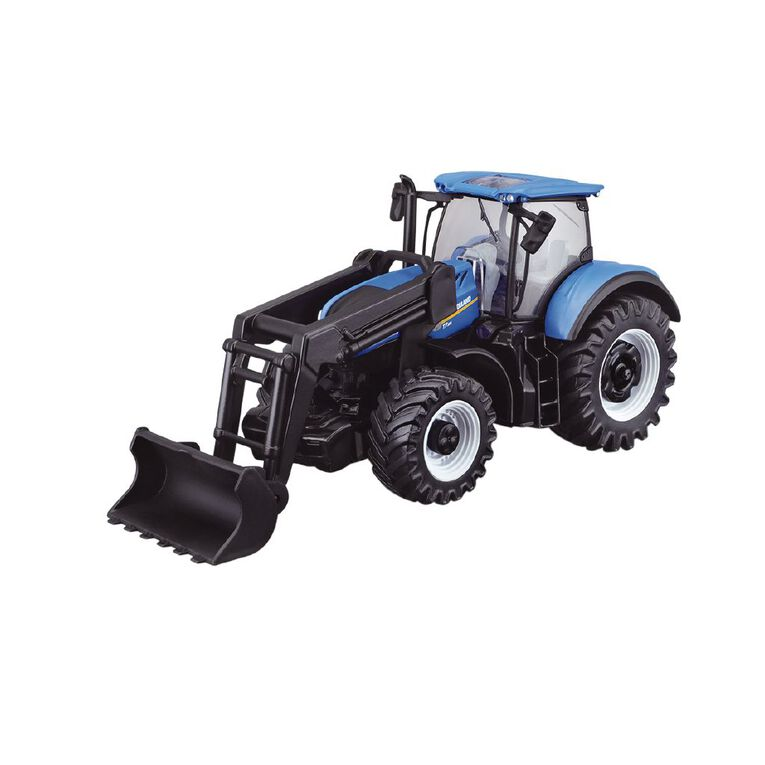 Bburago New Holland 10cm Farm Friction Tractor with Front Loader, , hi-res