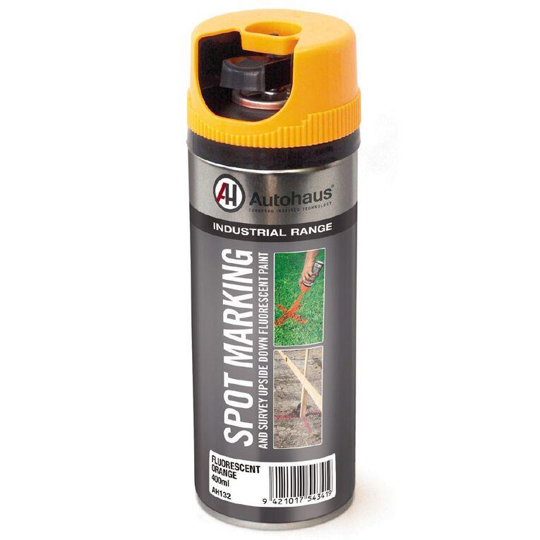 Autohaus Fluorescent Spray Paint Orange 400ml, , hi-res
