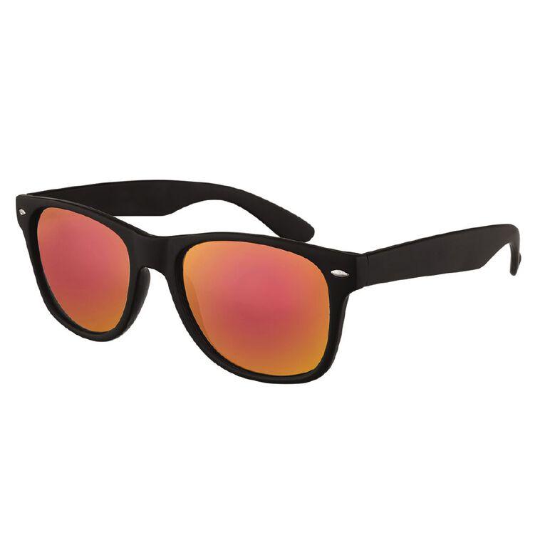 H&H Essentials Mirror Sunglasses, Red, hi-res
