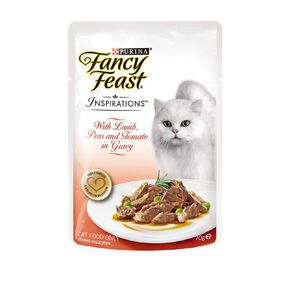 Fancy Feast Inspirations Lamb with Peas & Tomatoes 70g Pouch