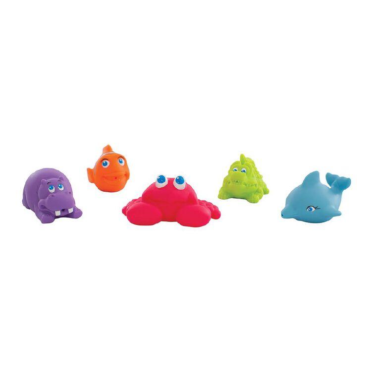 Squeek Under the Sea Bath Squirtees 5 Pack, , hi-res