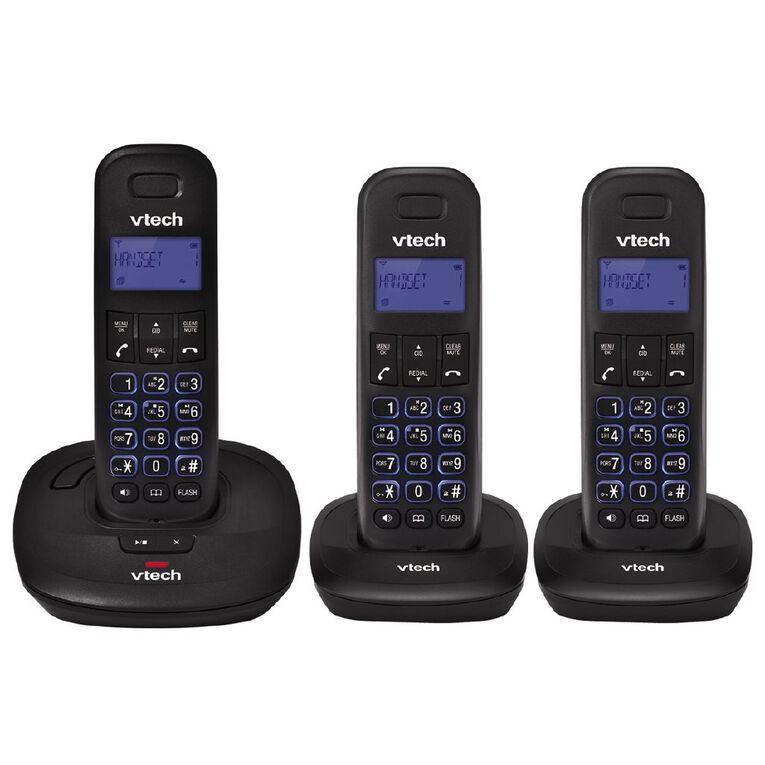 Vtech ES1820-3A Telephone Answer Machine Triple Pack Black, , hi-res