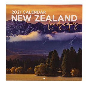 Bright Ideas 2021 Calendar New Zealand Landscapes 290mm X 290mm