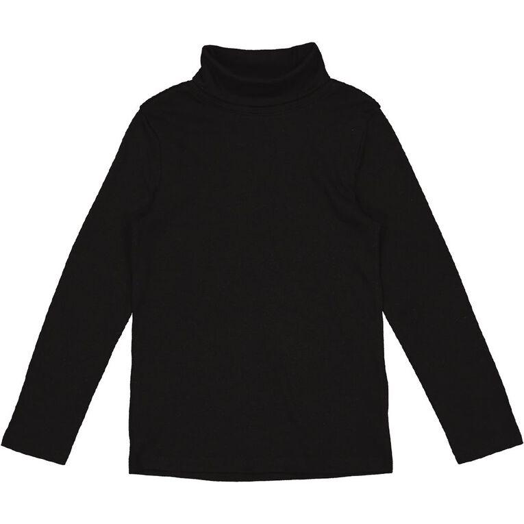 Young Original Plain Skivvy, Black, hi-res