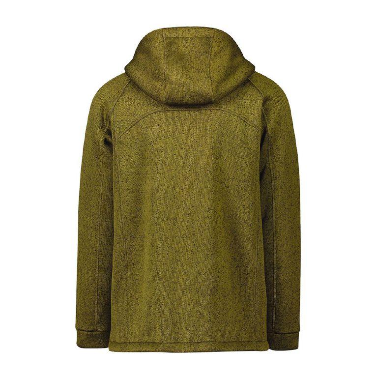 Active Intent Men's Outdoor Sweatshirt, Green Dark, hi-res