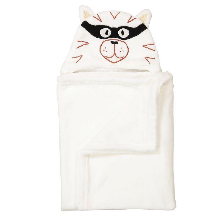Babywise Hooded Blanket Tiger, , hi-res