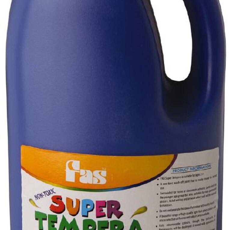 FAS Paint Super Tempera Ultra Blue 2L, , hi-res