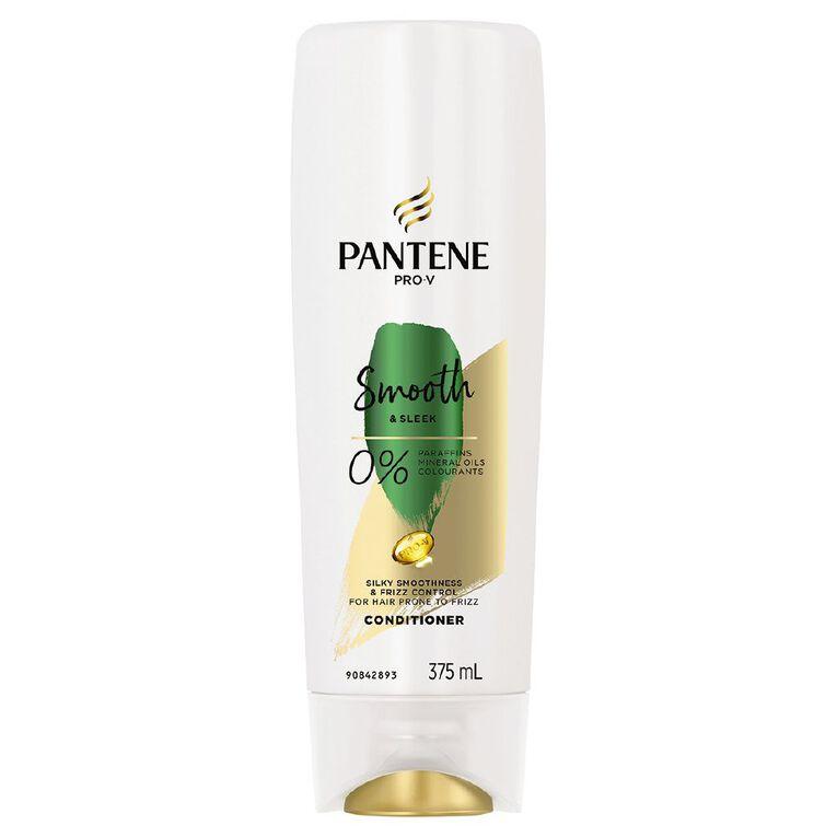 Pantene Smooth & Sleek Conditioner 375ml, , hi-res