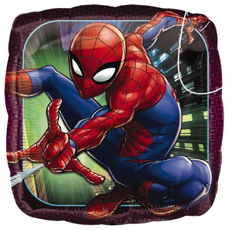 Spider-Man Animated Foil Balloon Standard 17in, , hi-res
