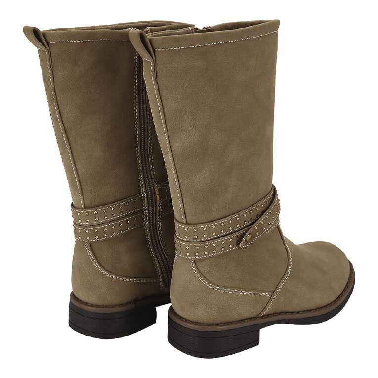 Young Original Kids' Knee Boots, Brown, hi-res