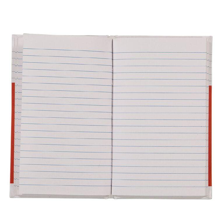WS Notebook 4B1 7mm Ruled 64 Leaf Red, , hi-res