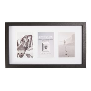 Living & Co Premium Collage Frame 3 Opening 4in x 6in