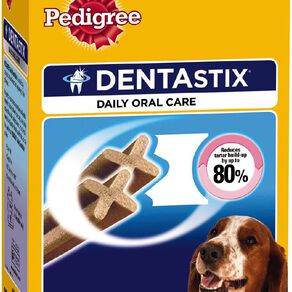 Pedigree Dentastix Dog Treats Daily Oral Care Medium Dog 28 Sticks