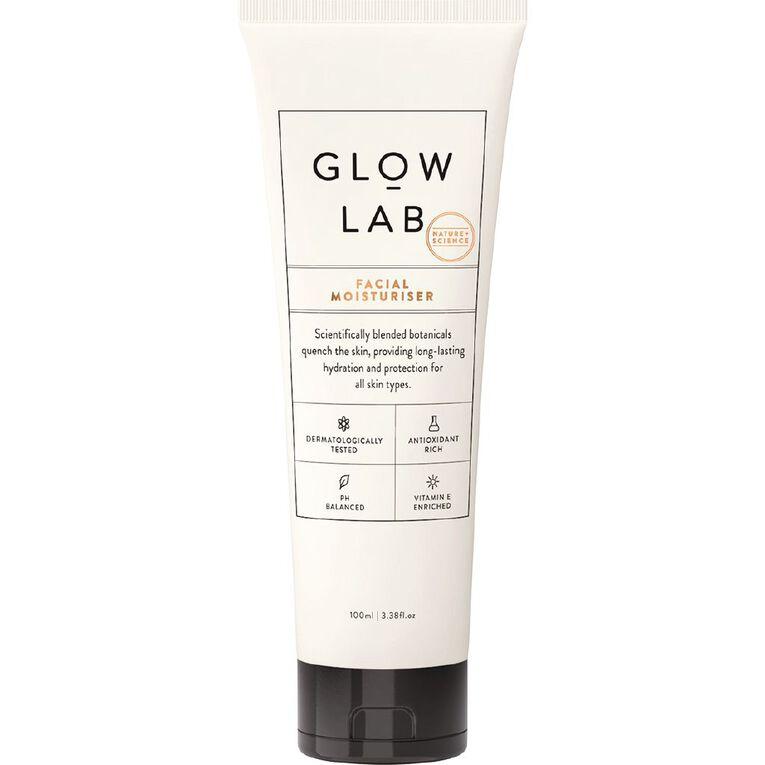 Glow Lab Facial Moisturiser 100ml, , hi-res