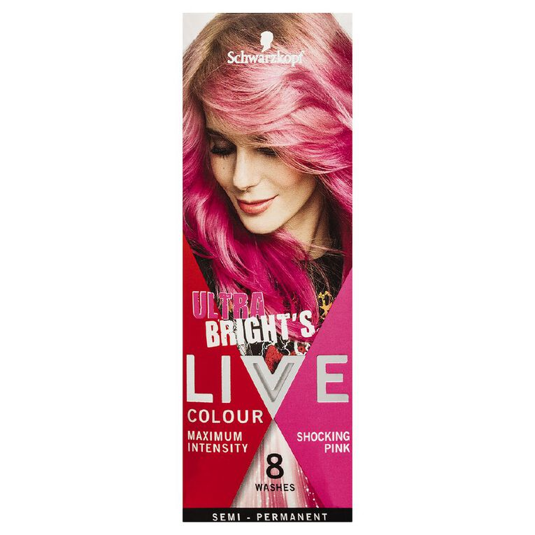 Schwarzkopf LIVE Colour Ultra Brights Shocking Pink, , hi-res