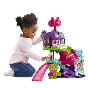 Vtech Toot Toot Disney Minnie Mouse Around Town Playset