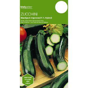 Kiwi Garden Zucchini Blackjack