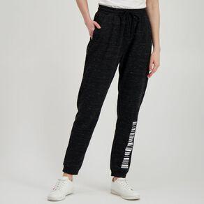 H&H Women's Elastic Fleece Trackpants