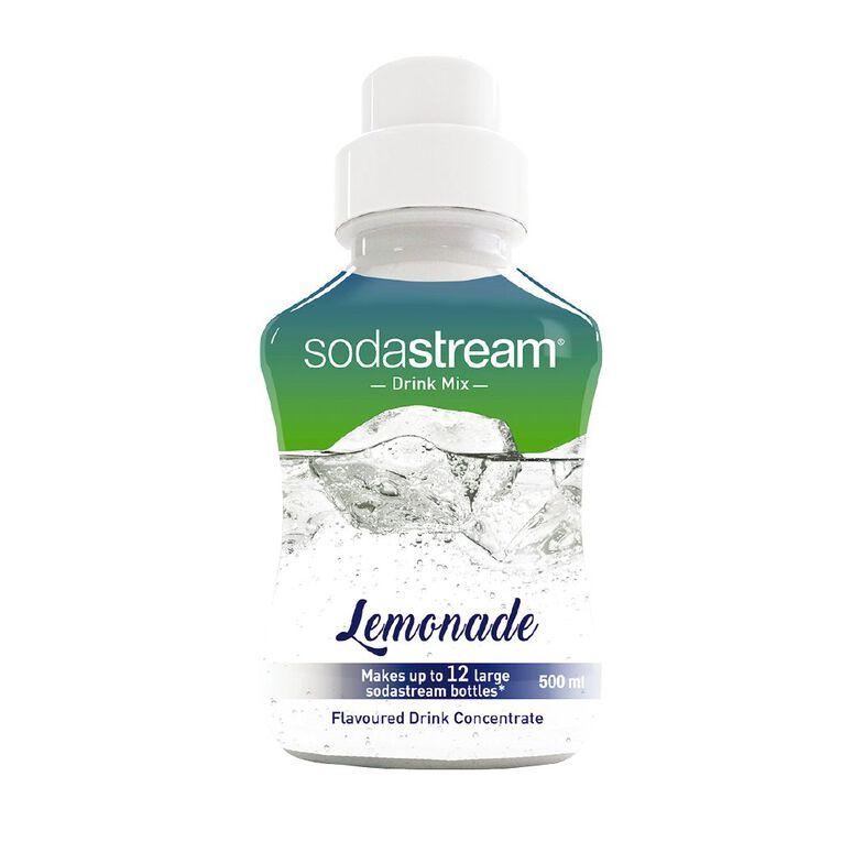 Sodastream Syrup Lemonade 500ml, , hi-res