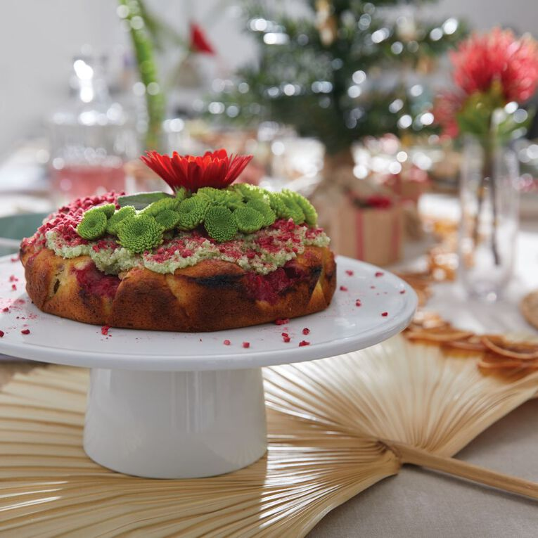 Living & Co Cake Stand White, , hi-res